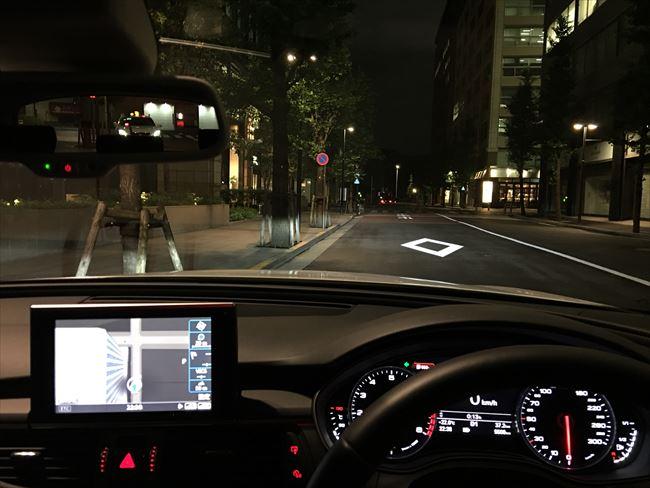 Audi A6 AVANTの車窓から