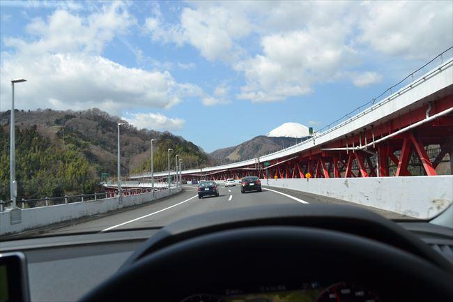 アウディQ5の高速道路の走行