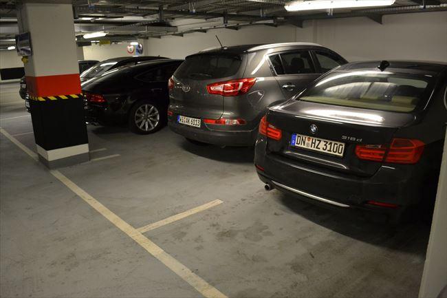 F30 BMW3erを後ろから