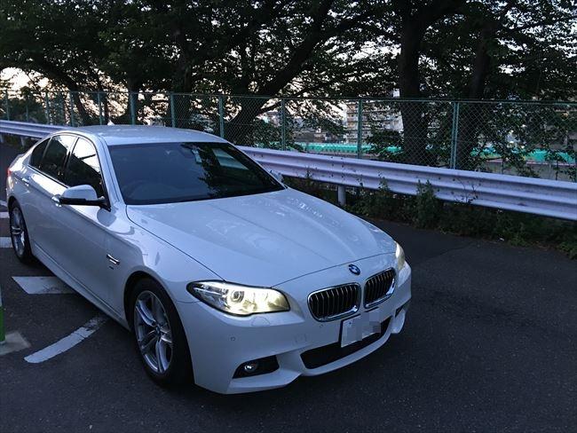 BMW5シリーズ 523i Mスポーツ フロント外観