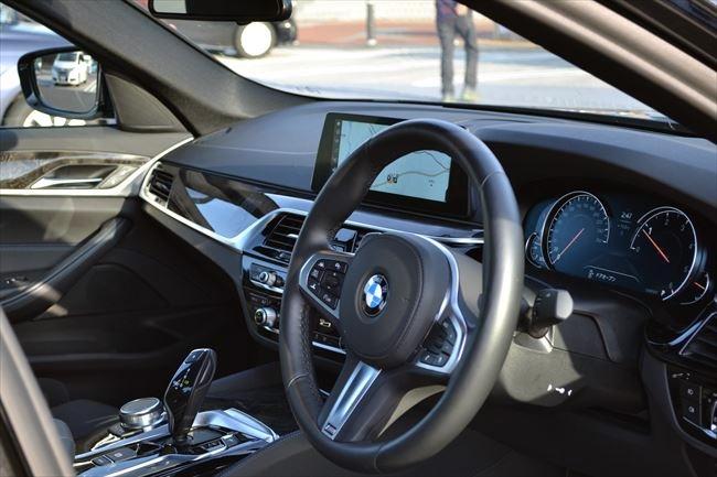 BMW 523d Mスポーツ G30 インテリア