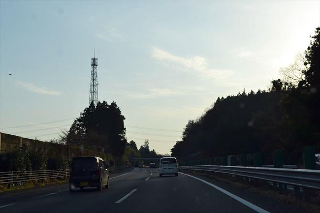 BMW 523d Mスポーツ 高速道路走行