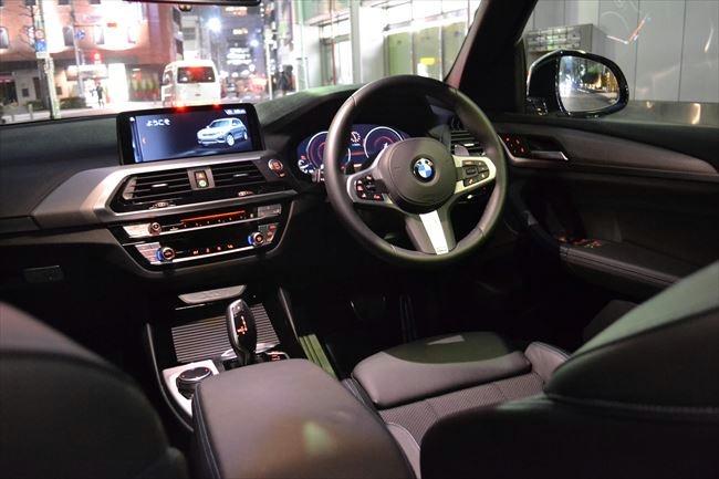 BMW X3 Mスポーツ G01 インテリア