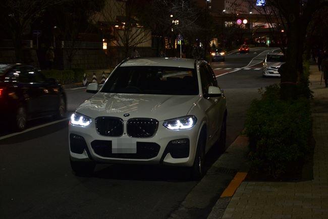 BMW X3 xDrive20d Mスポーツ G01 フロント