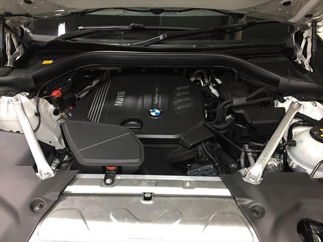 BMW X3 xDrive20dのB47エンジン