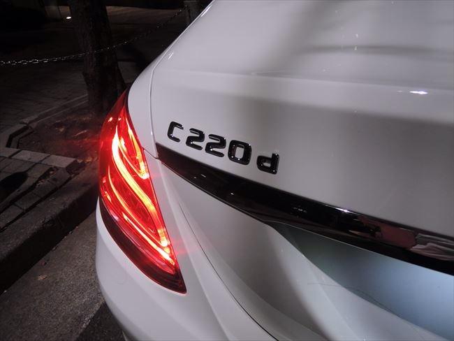 メルセデス・ベンツ C220d アバンギャルド エンブレム