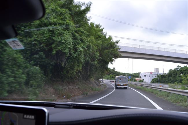 高速道路の走行
