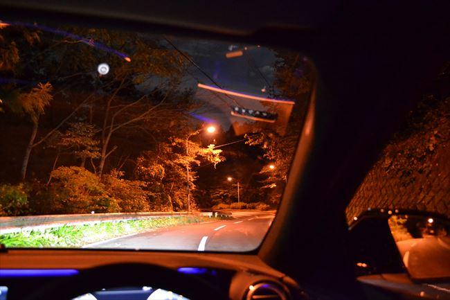 メルセデスAMG E43 4MATIC 峠