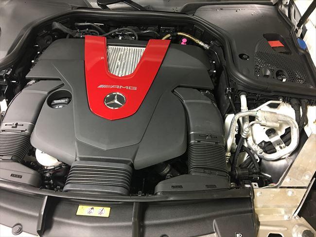 メルセデスAMG E43 4MATIC に搭載されるエンジン