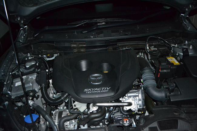 デミオの搭載されているディーゼルエンジン