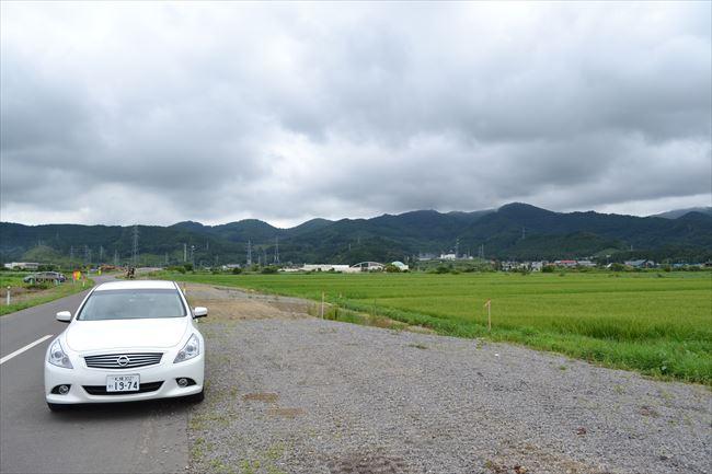 BMW X1 xLine リアから撮影