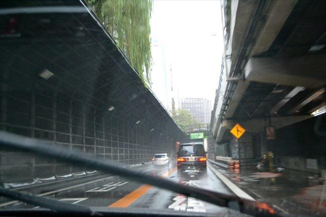雨でも快適な首都高