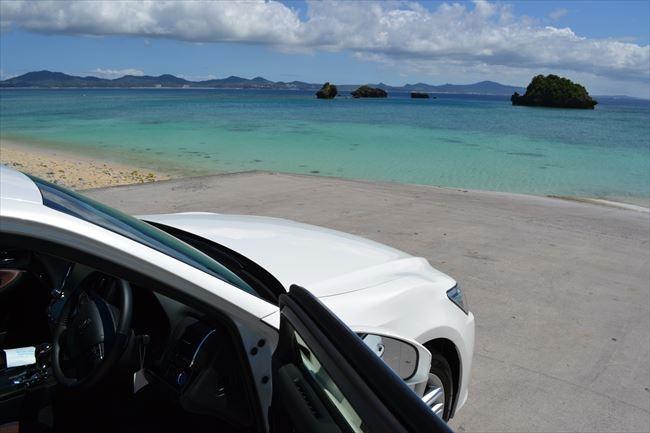 沖縄で撮影