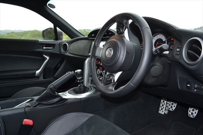 トヨタ 86 GT Limitedのインテリア