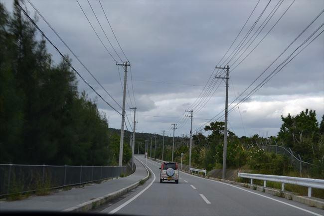 エスティマで沖縄をドライブ
