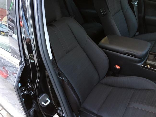 トヨタ 210系クラウンアスリート フロントシート