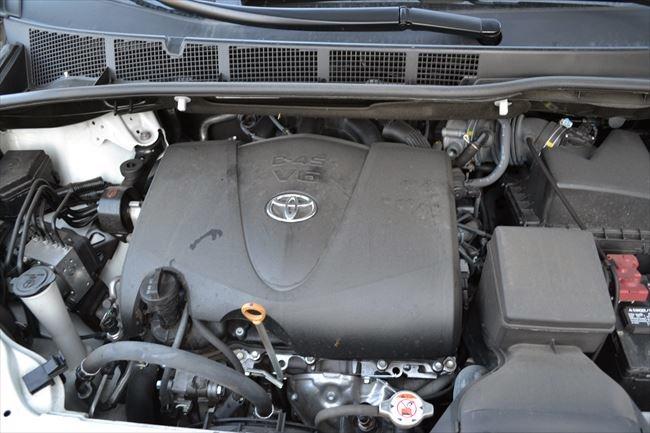 トヨタ シエナ V6-3.5Lエンジン