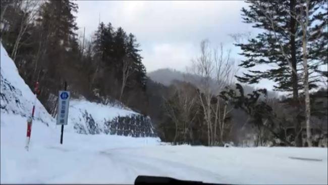 A4クワトロ 雪道発進
